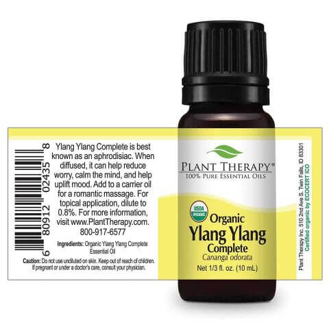 Ylang Ylang Complete Organic Essential Oil (10 ml) - My Simple Changes