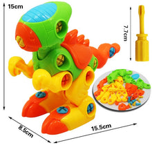 Load image into Gallery viewer, Early Learning Education DIY Screw Nut Group Installed Plastic 3d Puzzle Disassembly Motorcycle Kids Toys for Children Jigsaw