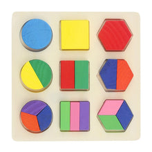 Load image into Gallery viewer, Learning Education Wooden Toys Children's Puzzle 3D Magic Cube Children's Educational Toys Montessori Puzzle New Year Gifts