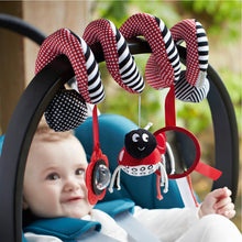Load image into Gallery viewer, Soft Infant Crib Bed Stroller Toy Spiral Baby Toys For Newborns Car Seat Educational Rattle Baby Towel Education Toys