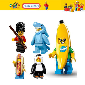 Hot Figures Series Buzz Lightyear Banana Guy Building Blocks Lady Liberty Gingerbread Man Compatible legoingly Child Toys zk30
