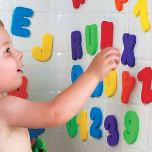 36PCS/se 2018 New Baby Kids Children Educational Toy Foam Letters Numbers Floating Bathroom Bath tub kid toy for boy girl gifts