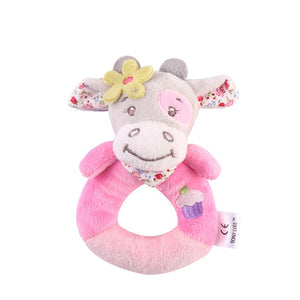 Fulljion Baby Rattles Mobiles Toddler Toys Christmas Crib Toys For Baby Soft Bed Bell Animal Musical Montessori Mobile Rattles