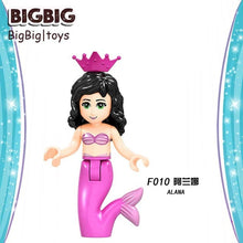 Load image into Gallery viewer, Playmobil Legoing Fairy Tale Princess city Series Building Blocks Figures Compatible with LegoED Friends Toys Bricks for Girls
