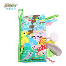 Load image into Gallery viewer, Baby Toys Infant Baby Book Early Development Cloth Books For Kids Learning Education Activity Books Animal Tails Dinosaur SZ04