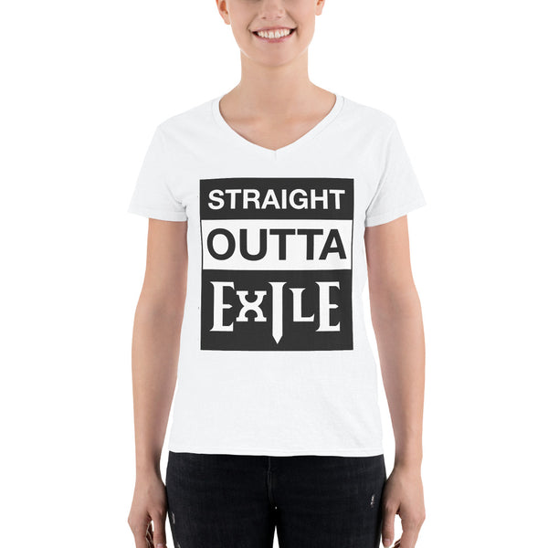 Straight Outta Exile - Path of Exile Meme Tee (Ladies)