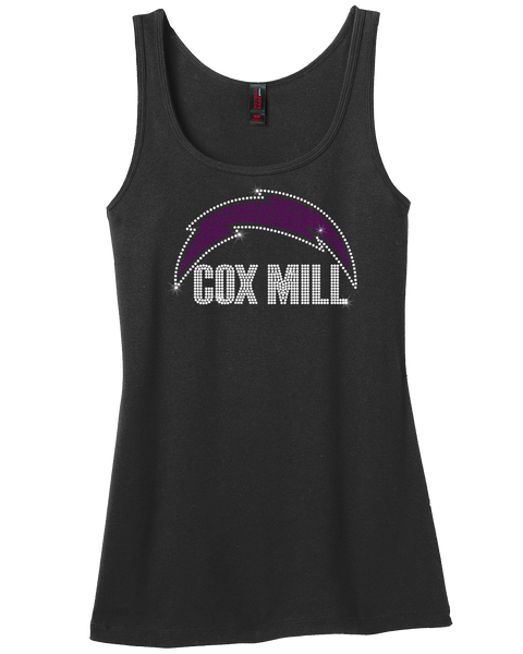 Cox Mill Charger rhinestone shirt