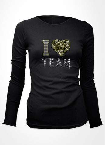 I Tennis heart + Team