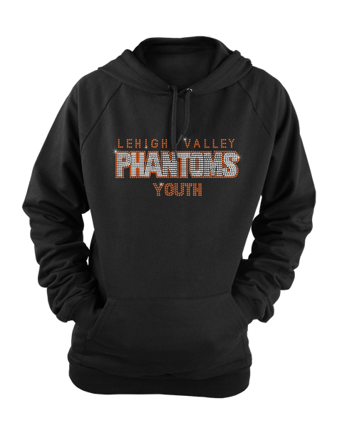 Lehigh Valley Phantoms Hockey Bling Rhinestone shirt