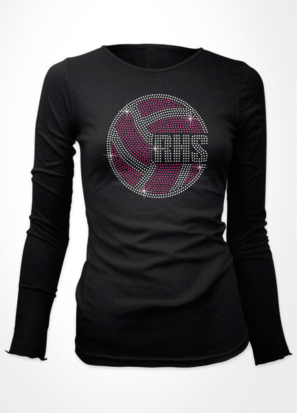 Volleyball + Initials
