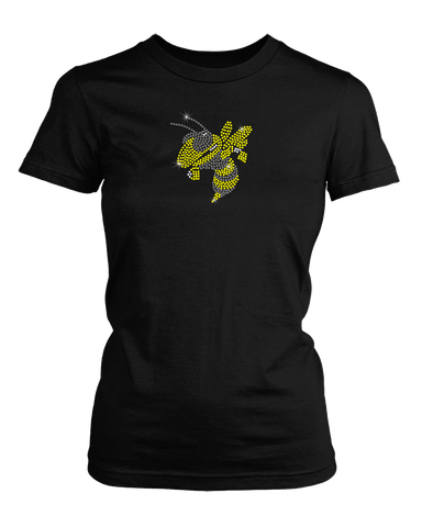 Yellowjacket Rhinestone shirt