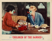 Load image into Gallery viewer, Original paper framed - Children of the Damned II