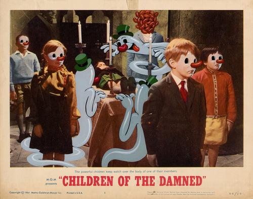 Original paper framed - Children of the Damned