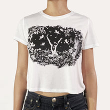 Load image into Gallery viewer, Dancing Days t-shirt - Cropped