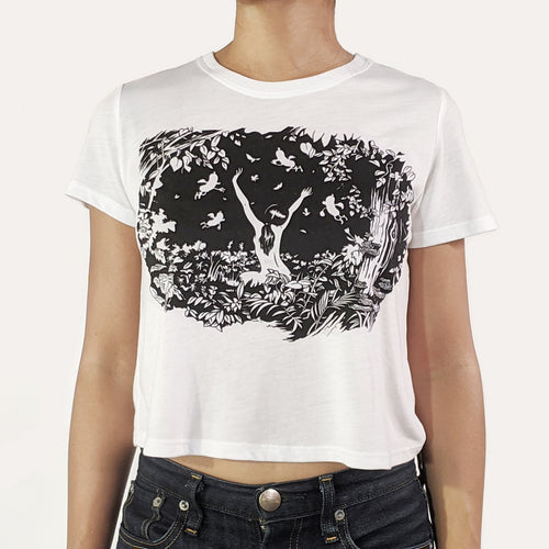 Dancing Days t-shirt - Cropped