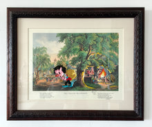 Load image into Gallery viewer, Original paper framed - The Village Blacksmith