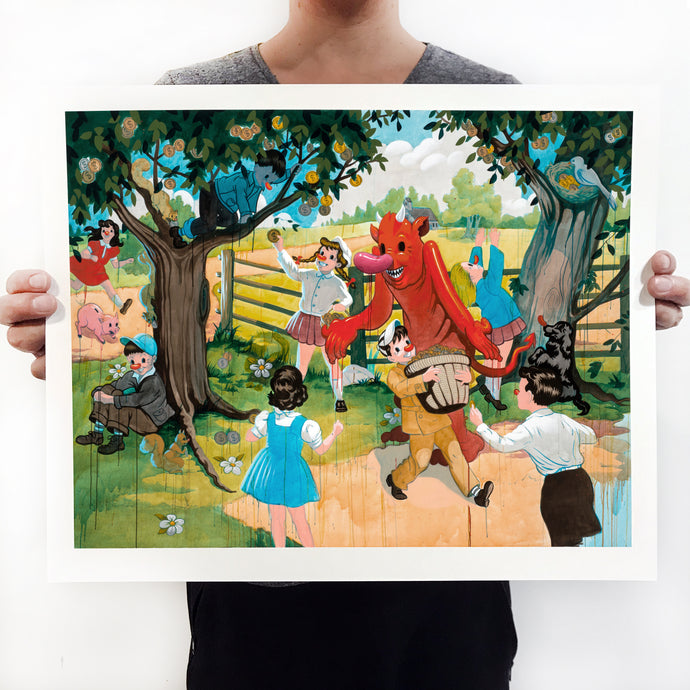 The Big Dream signed print - Small