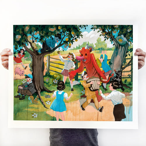 The Big Dream signed print - Medium