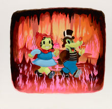 Load image into Gallery viewer, Fire Walkers signed print - Small