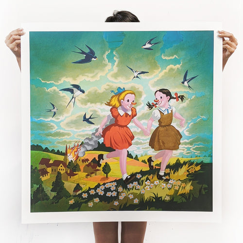 Let's Get Out of Here signed print - XXL