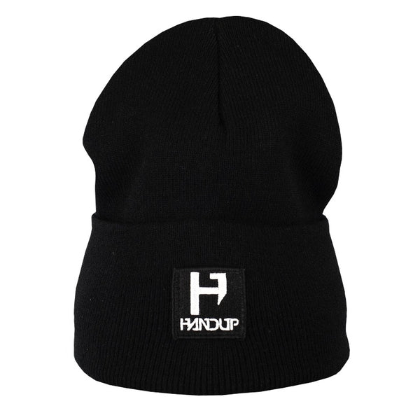 Beanie - H Logo Knitted - Black