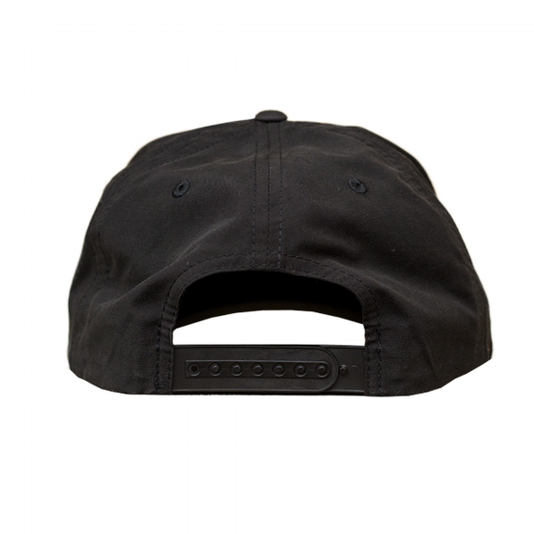 Hat - Nylon Snapback - All Black