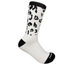 Socks -  White Leopard