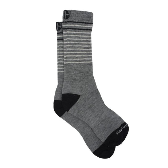 These Handup Mr.Grey Stripes socks are ready any adventure - Cycling Socks - Mountain Bike socks - MTB Socks - Running Socks - Trail Running Socks - Golf Socks - High Quality Socks - Socks Made in the USA