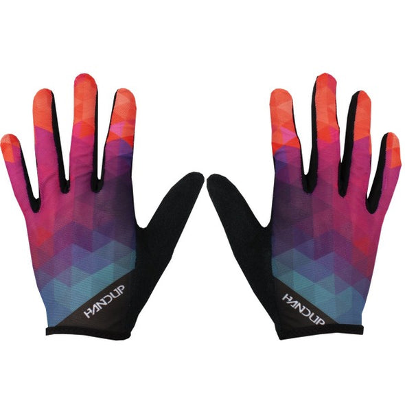 Summer mountian bike gloves - Light gloves - LITE Gloves - MTB Gloves - Warm Weather gloves - SUper Light MTB Gloves - Breathable cycling gloves - Pineapple Express.jpg