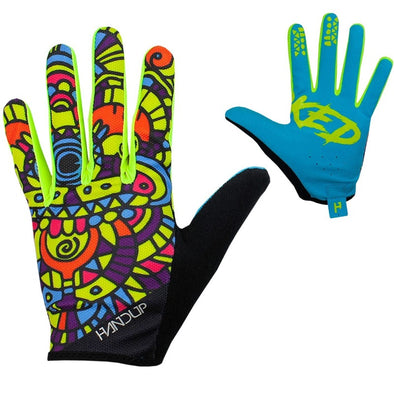 Gloves - Stained Glass - Yellow / Blue