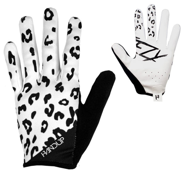 Gloves - Steezy White Leopard
