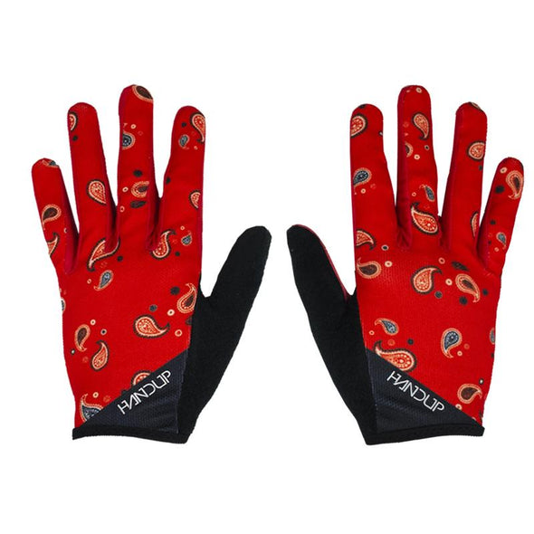 These Paisley Mountain bike Gloves are ready for any cycling adventure. Hang on to your handlebars in the braaap paisley cycling gloves. People won't miss you shredding down the mtb trail in these.