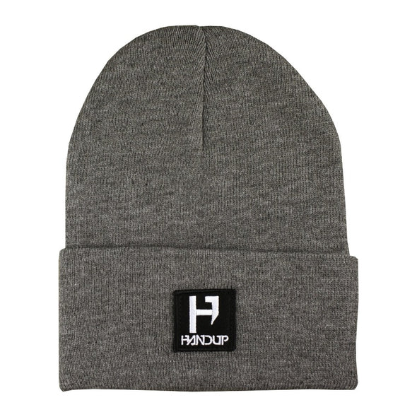 Beanie - H Logo Knitted - Grey