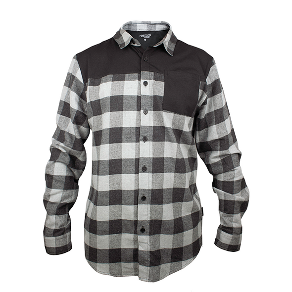 outdoor flannel - cheap outdoor flannel - work shirt - cycling flannel - cycling button up - handup flannel - flextop flannel
