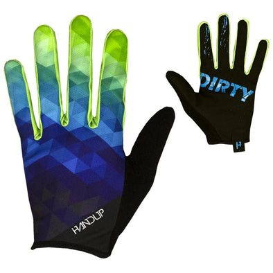 Gloves - Blue / Yellow Prizm