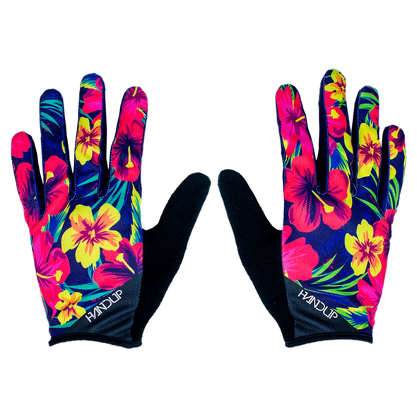 The miami dos mountain bike glove is ready for all of your cycling adventure needs. These wildly designed cycling gloves are ready to hit the trail