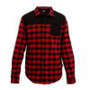 FlexTop Flannel - Red & Black