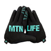 Gloves - Mtn Life - Teal / Grey