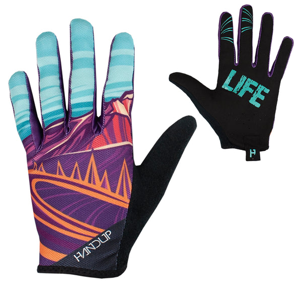 Gloves - Mtn Life - Purple / Teal