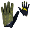 These Pisgah Mountain Bike Gloves have a topo map (topographic map) of pisgah on them. They are perfect for exploring NC on your Mountain bike