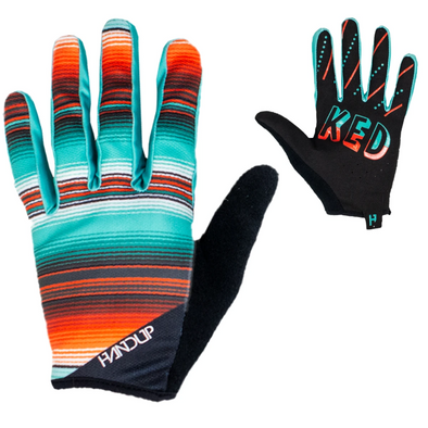 A new edition of our Poncho Serape Glove - The Handup Serape Mountain Bike gloves have been around and these are here to bring some wild west designs to the trail.