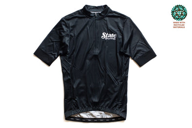 State Bicycle Co. - Peace Jersey  - Black