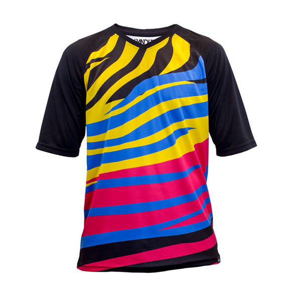 Short Sleeve Jersey - Zebra Party