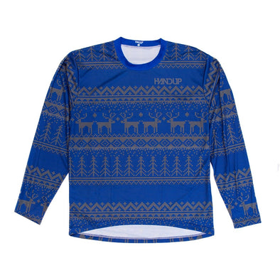Long Sleeve Jersey - Tacky Sweater Blue