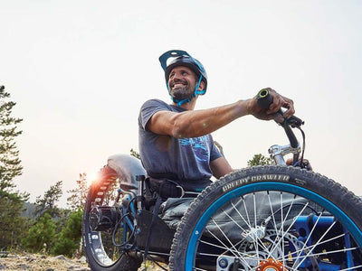 Freakin' Eureka: Paralyzed adventurer invents mountain bike that gets him back on the trails