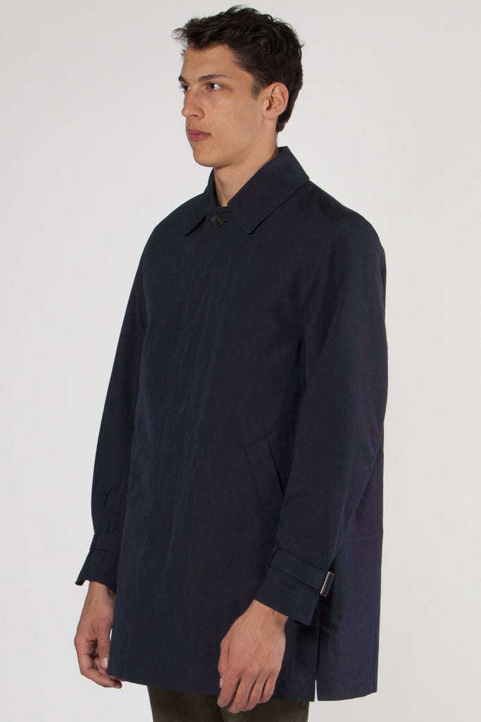 Alfia Coat navy
