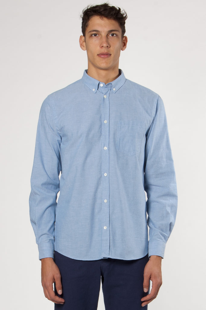 Anton Chambray Shirt light indigo