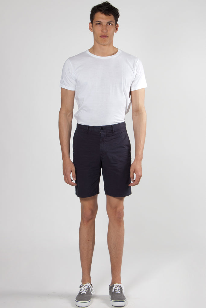 Aros Light Twill Shorts dark navy