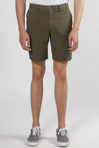 Aros Light Twill Shorts ivy green