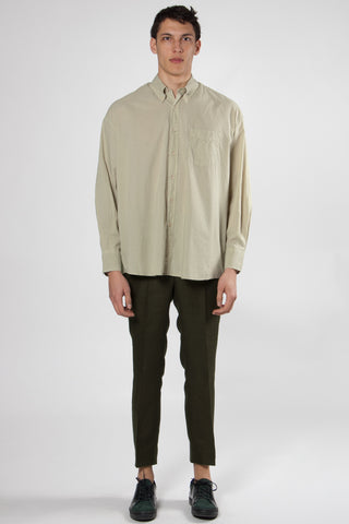 Borrowed BD Shirt pistachio voile